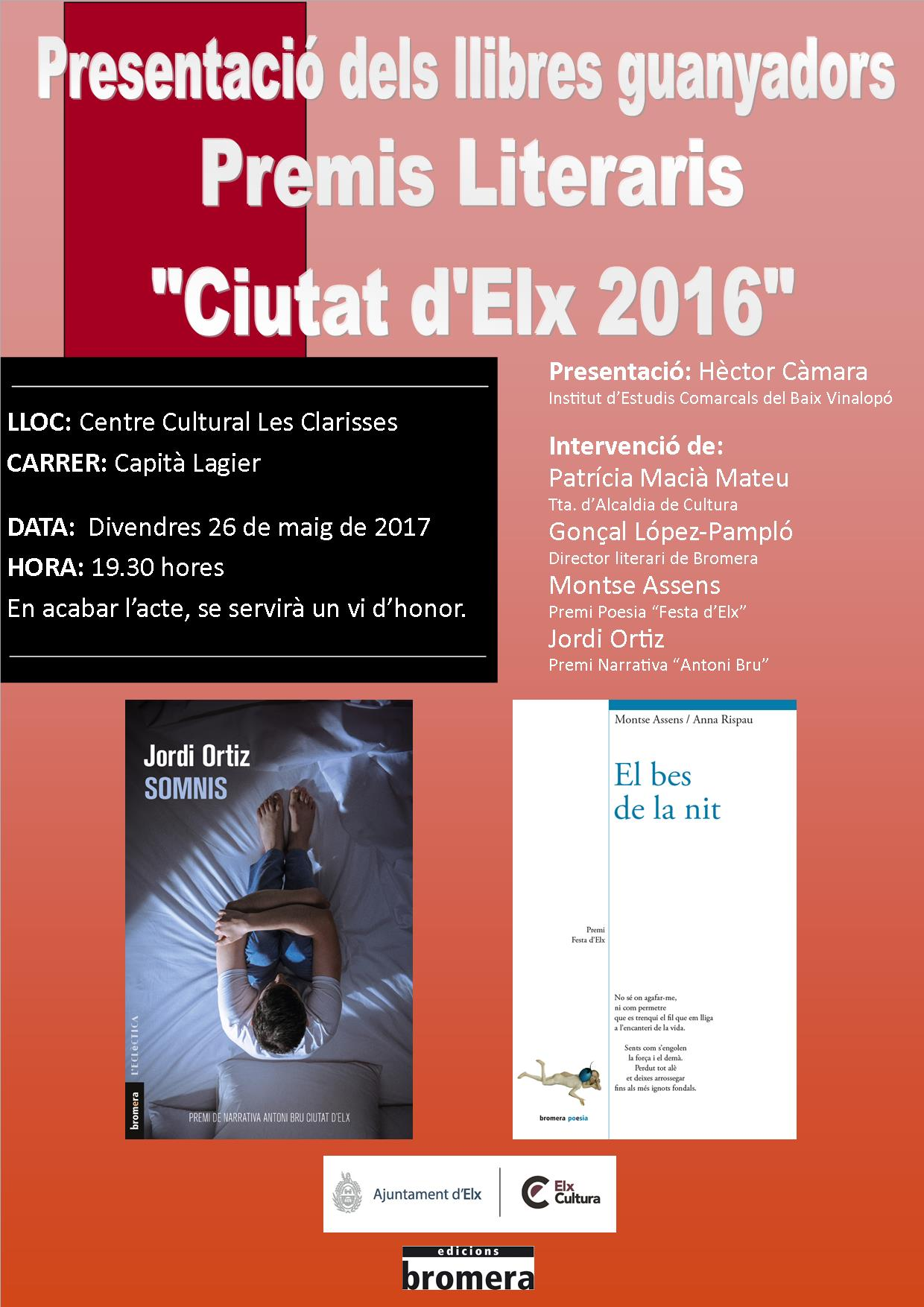 Presentació Llibres 2016