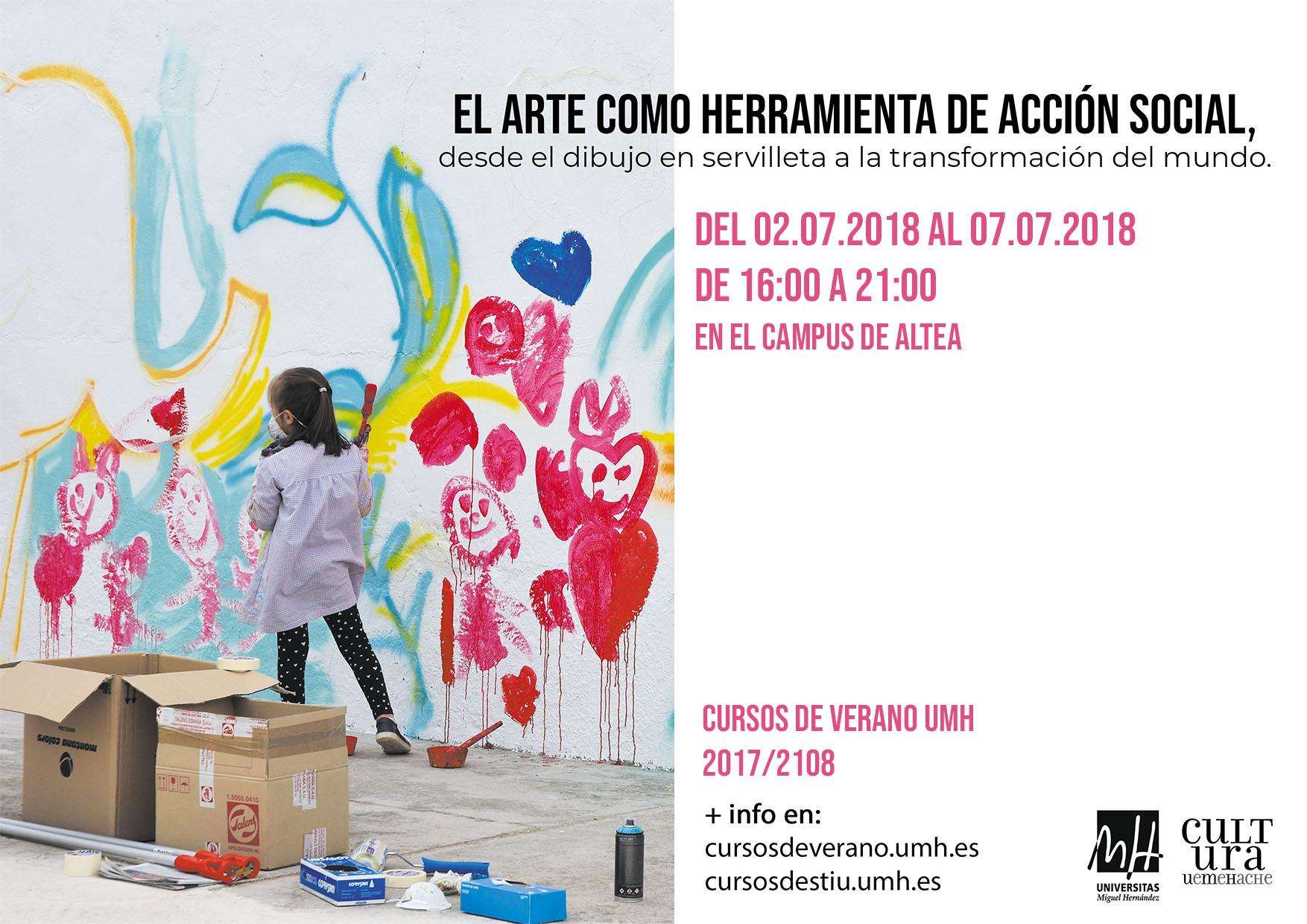 El arte como herramienta de acción social