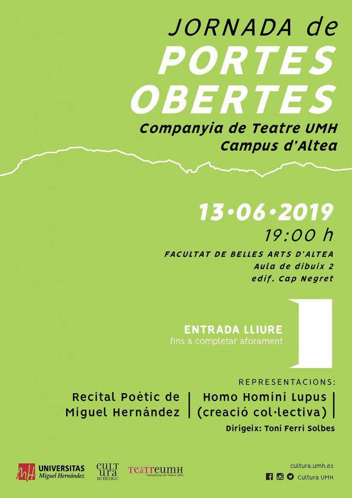 Jornada de puertas abiertas en el Campus de Altea