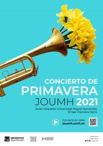 Cartel Concierto Primavera 2021 JOUMH