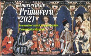 Concierto de Primavera 2021 Pneuma UMH