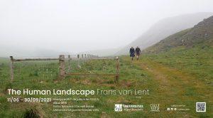 Cartel The Human Landscape, de Frans van Lent