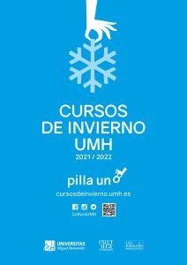 Cartel Cursos de invierno UMH
