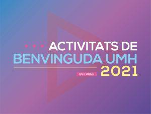 Activitats de Benvinguda 2021
